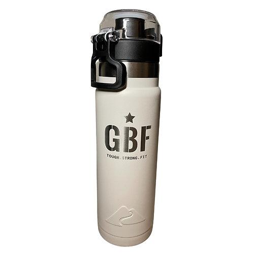 GBF 24-Ounce Water Bottle (White)