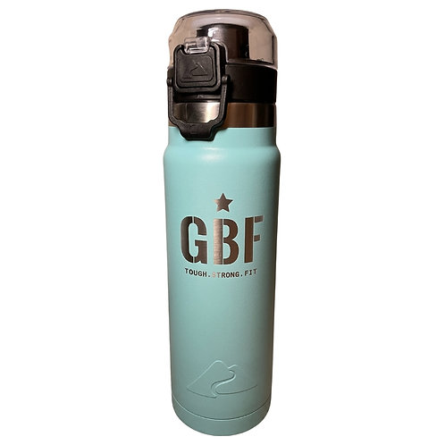 GBF 24-Ounce Water Bottle (Turquoise)