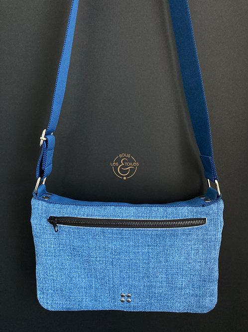 Modèle Verseau en tissu bleu jeans