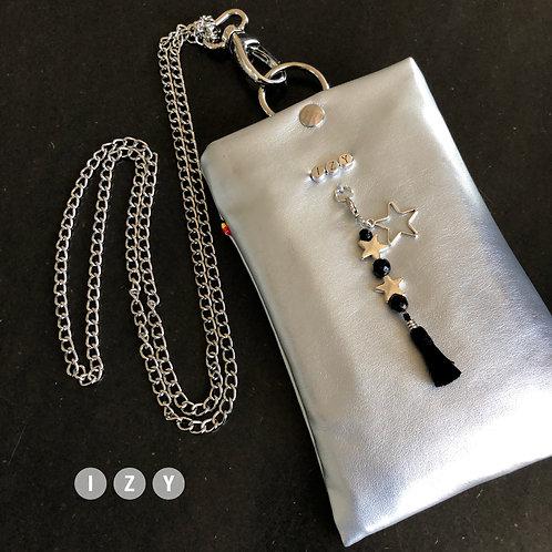 IZY Small en gris clair metallisé