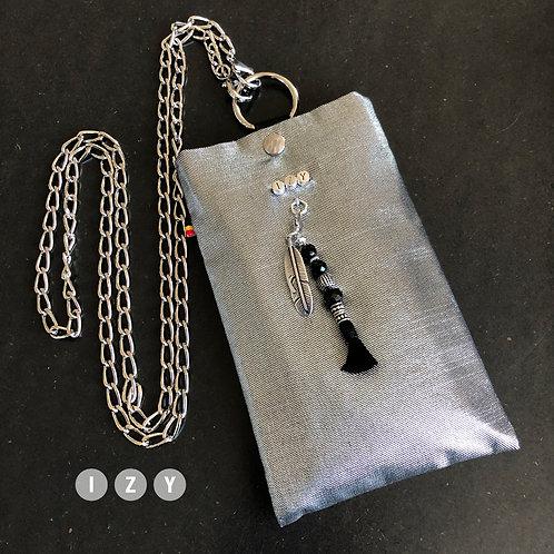IZY Small gris clair métallisé