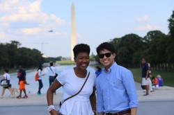 Washington Monument + WWII Memorial