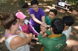 Teambuilding Training at Great Falls