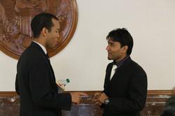 Salman Waryam and Elias Alcantara