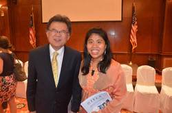 Engagement at the Malaysian Embassy