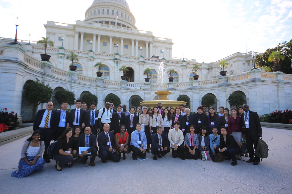 IYLA 2014 in front of the U.S. Capitol.