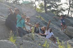 IYLA Delegates on a Hike