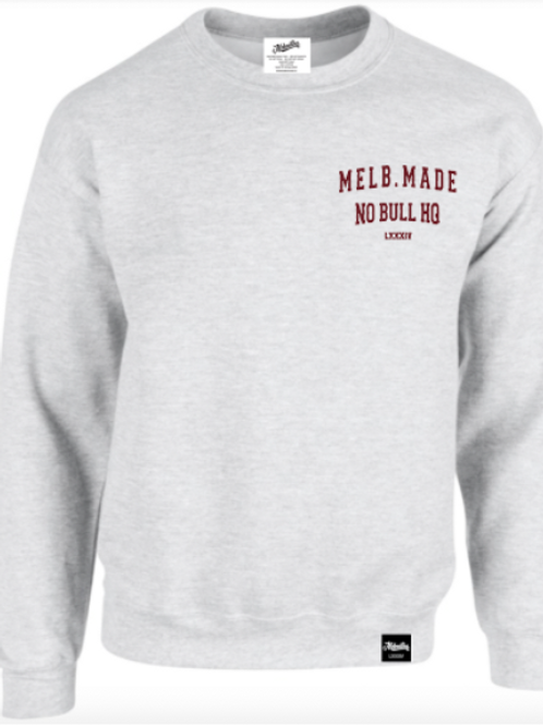 Melb. Made Crew Neck Jumper