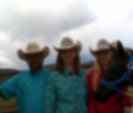 Sheppard family and 2 new horses.JPG