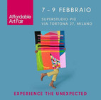 Affordable Art Fair Milan 7-9.Feb 2020