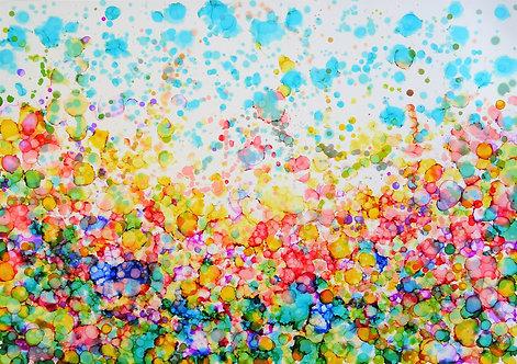 """""""Graceful Garden"""" - 70x100cm"""