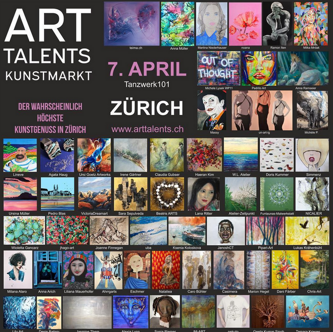 Art Talents 7.04.19 - Zurich