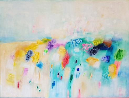 """""""Fields of Love"""" - 200x150cm"""