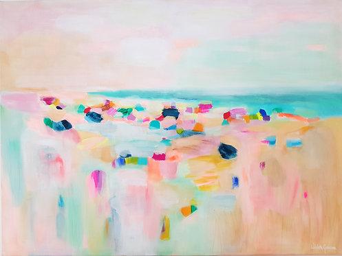 """""""At the beach 1"""" - 80x60cm"""