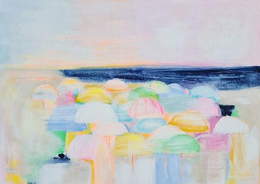 """""""Sun Umbrellas"""" - 50x70cm"""