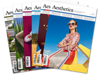 Artist in the Aesthetica Magazine
