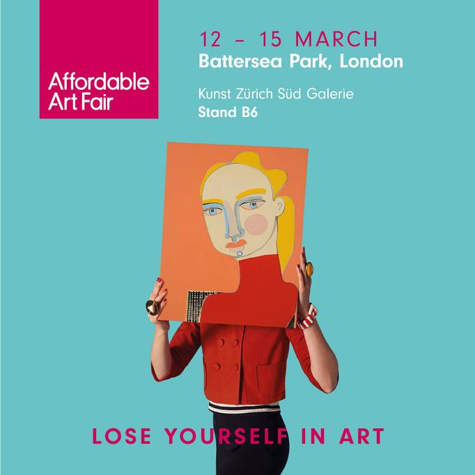 Affordable Art Fair Battersea London 12-15. March 2020