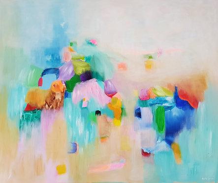 """""""Sweet Dreams 8""""- 120x100x4cm"""