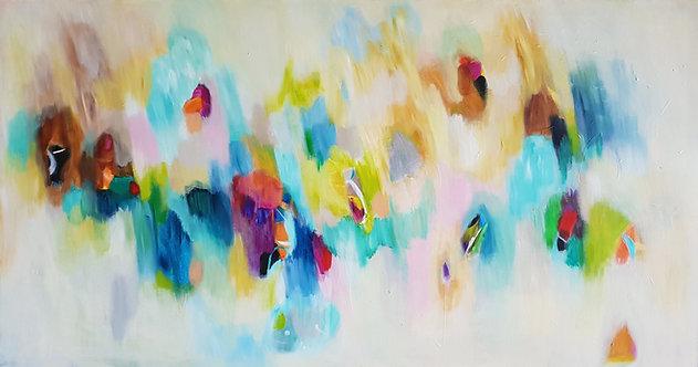 """Soft Spring"" - 160x85x4cm"