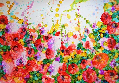 """""""Roses"""" - 70x100cm"""