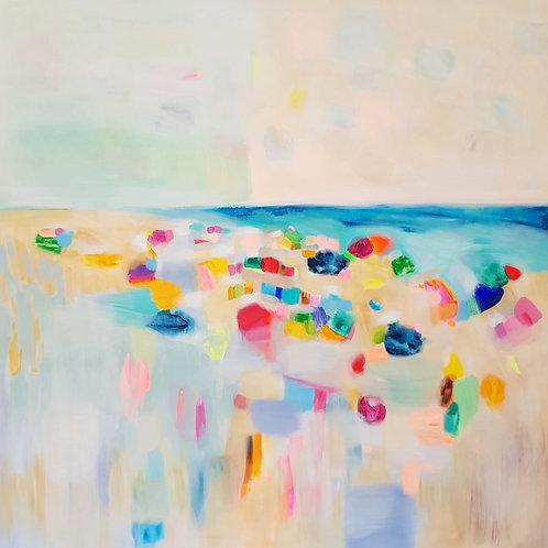 """""""Beach""""- 145x145cm"""