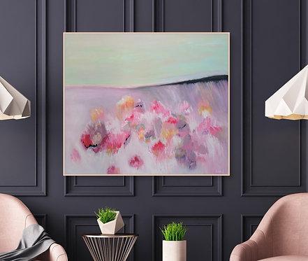 """""""Candy Landscape"""" - 100x90x2cm"""