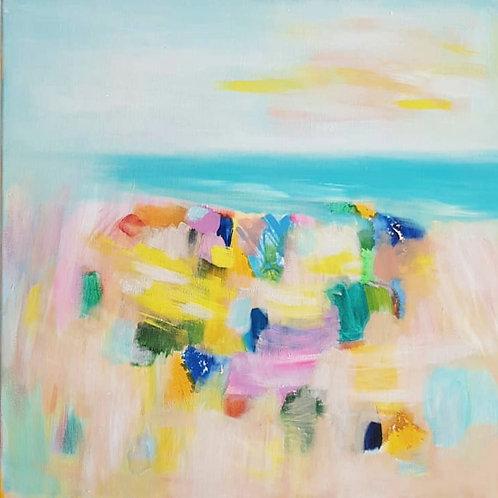 """""""Sunny Beach"""" - 50x50cm"""