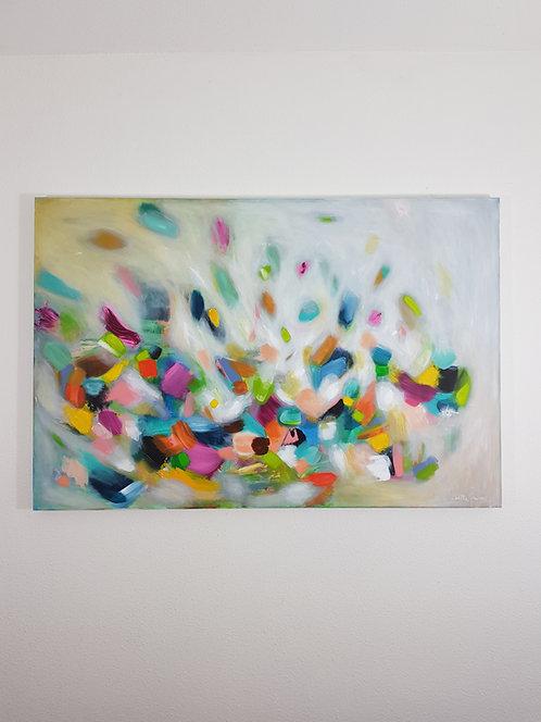 """""""Love In The Air"""" - 120x80x4cm"""