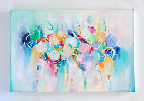 Happiness is a Butterfly - 120x80cm
