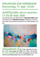 Group Art Exhibition Zug