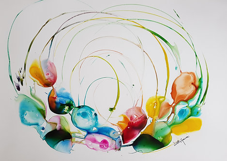 """Flow 12""  - 70x100cm"