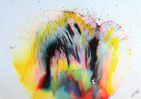 """Explosion"" - 70x100cm"
