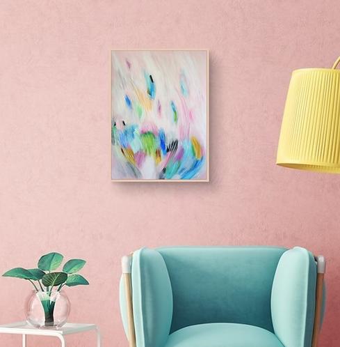 """""""Colors Composition Nº6"""" - 36x48cm"""
