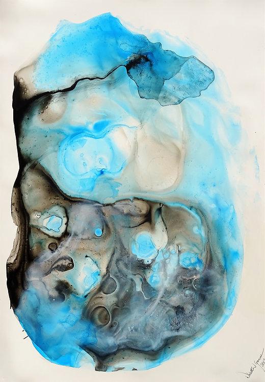 """Crystal Cave"" - 70x100cm"