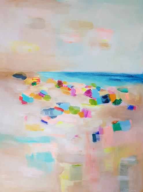 """""""At the beach 2""""- 80x60cm"""