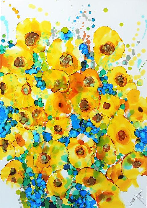 """Sunflowers"" - 70x100cm"