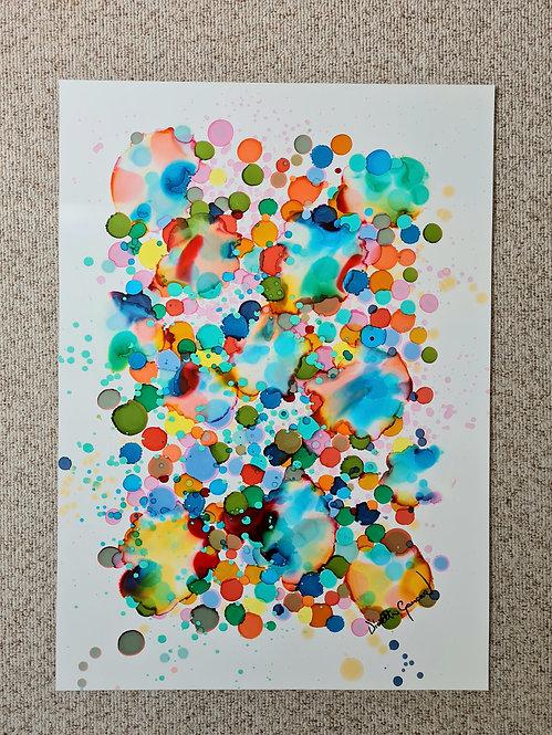 Marbles 10 - 50x70cm