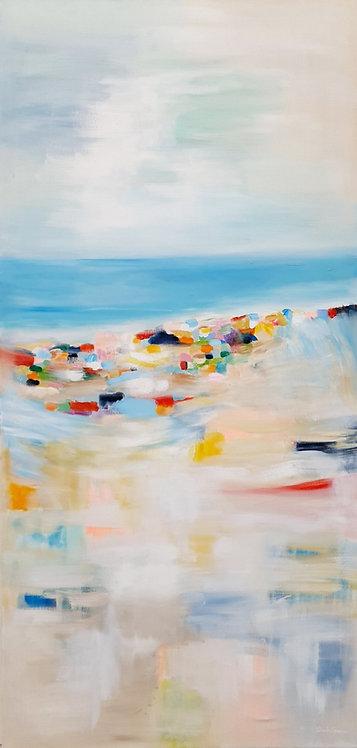 """""""Colourful Beach"""" -  145x70x2cm"""