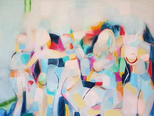"""A Figure Study""- 140x105cm"