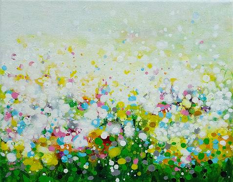 """Flowers Sea"" - 24x30x2cm"
