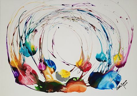 """Flow 6""  - 70x100cm"