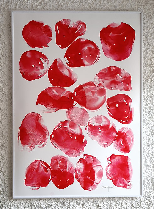"""Red Symphony"" -  100x70cm"