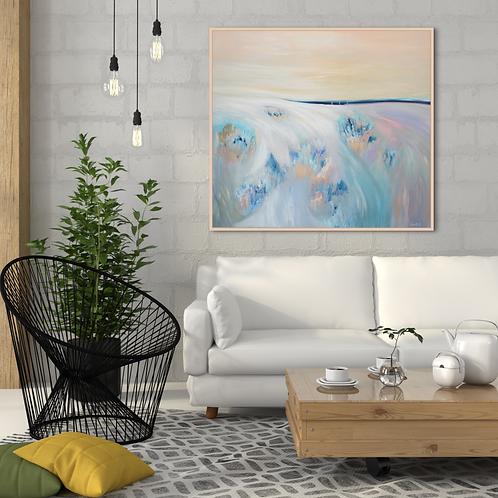 """""""Eternal Landscape"""" - 100x90x2cm"""