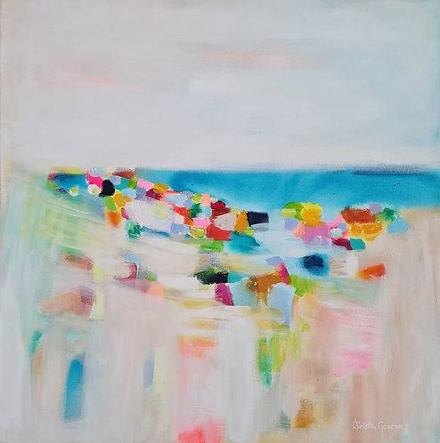 """""""Ocean Breeze"""" - 50x50x4cm"""