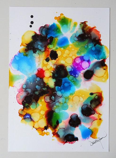 """""""Galaxy"""" - 50x35cm"""