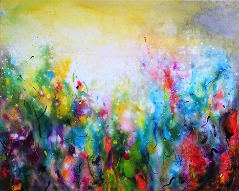 """Singing Garden"" 40x49.5x2cm"