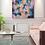 "Thumbnail: ""Flowers Fragrance"" - 100x90x2cm"