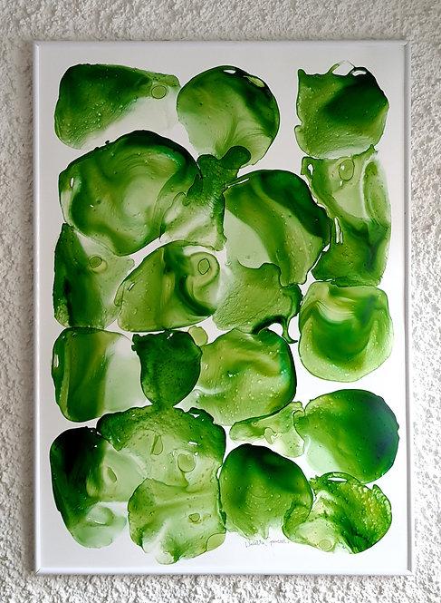 """Green Symphony"" -  100x70cm"