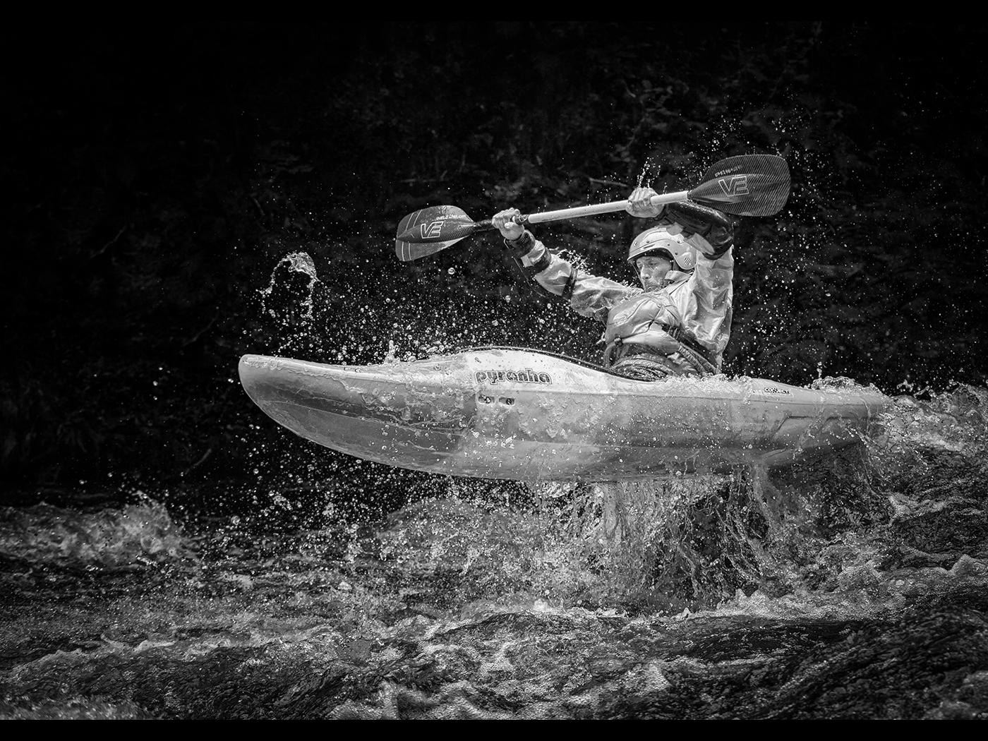 Flying Kayaker