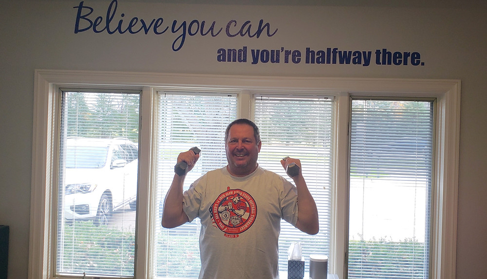 Tim found a way out of pain through rehab at Balanced Fitness & Health